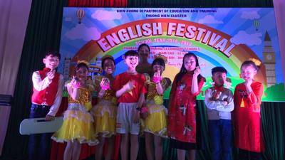 Festival English of Thuong Hien  primary school